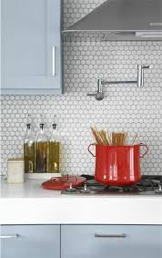 carreaux muraux cuisine le carrelage hexagonal une tendance qui fait grand retour