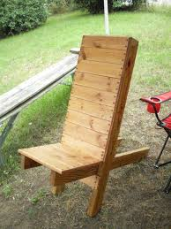 Free Wood Outdoor Chair Plans by Pdf Wooden Camp Chair Plans Free Arafen