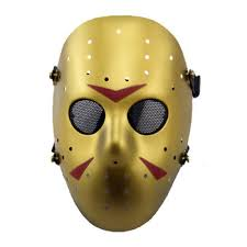 Jason Mask Black Halloween Hockey Mask Of Killer Jason Voorhees Buy