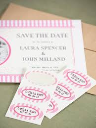save the date labels weddings ideas from evermine