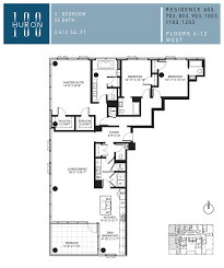a look at 100 w huron floor plans 100 w huron condos for sale