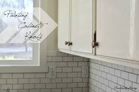 how to paint kitchen knobs s kitchen makeover cabinet knobs creatively living