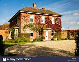 typical english country manor house in ogbourne st andrew a