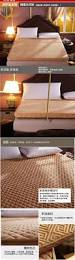 bedroom soft mattress japanese futon coral fleece thick warm