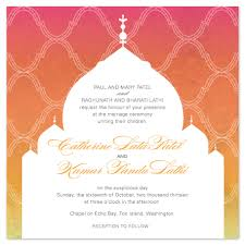 Wedding Invitations Indian Wedding Invitations Indian Temple At Minted Com