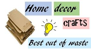home decor ideas with waste diy home decor crafts from best out of waste room decor ideas