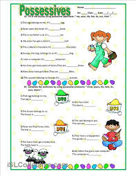 possessives worksheet free esl printable worksheets made by