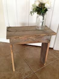 Homemade End Tables best 25 homemade bench ideas on pinterest homemade bookshelves