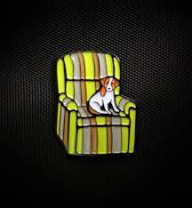 my frasier themed enamel pin finally arrived frasier