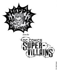 super villain coloring pages halloween activities with dc comics super villain