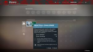 destiny 2 max light level destiny 2 nightfall strike guide modifiers timers difficulty