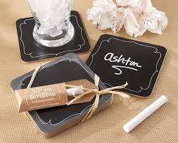 wedding coaster favors wedding favors by theme