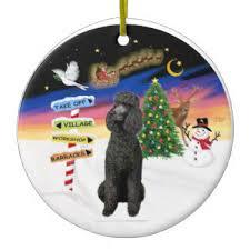standard poodle ornaments keepsake ornaments zazzle