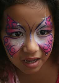 pink cheetah face paint yrs painting gallery face real paint