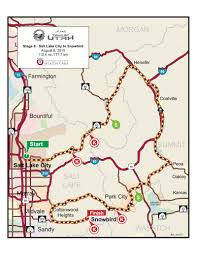 Utah Trax Map by 2015 Larry H Miller Tour Of Utah Where To Watch Spectator Guide