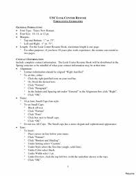 exle of one page resume how do you writees on resume exle toe for page recommendation