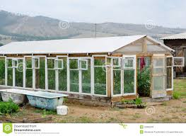 Green House Kitchen by Greenhouse At Kitchen Garden Royalty Free Stock Photos Image