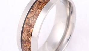 wood mens wedding bands unique mens wedding rings wedding promise diamond engagement