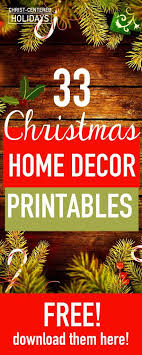free printable art home decor 30 free christmas wall art printables seasonal home decor christ