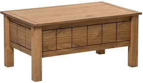 new corona lift up coffee table with storage mexican solid wood