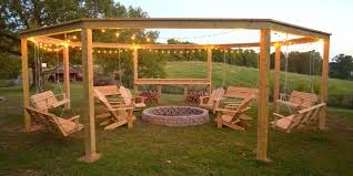Backyard Arbors This Diy Backyard Pergola Is The Best Summer Hangout Place