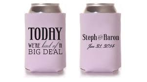 wedding koozie ideas stunning koozies for wedding ideas diy wedding 34238