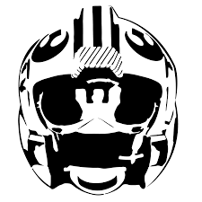 alliance fighter pilot helmet stencil template stencil templates