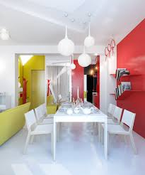Small Apartment Zinging With Color