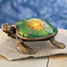 Solar Turtle Light by Mosaic Sea Turtle Solar Garden Light From Collections Etc