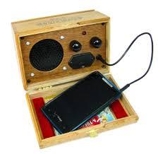 cigar box smartphone cell phone amplifier speaker great loud