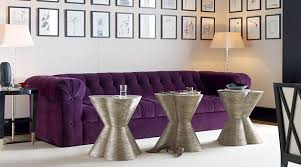 Diamond Tufted Sofa Breathtaking Purple Crushed Velvet Diamond Tufted Sofa Also Purple