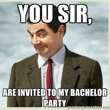 Bachelor Party Meme - bachelor party invite shared by shelly stuckman