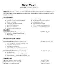 resume summary of qualifications for cmaa mbc nancy moore resume 2016 cbcs cert