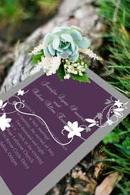 Purple Wedding Invitations Purple Wedding Invitations Tulle U0026 Chantilly Wedding Blog