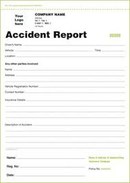 ncr report template incident report form incident report template