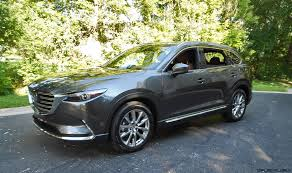 mazda suv types 2016 mazda cx 9 signature awd road test review by ken