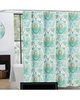 Turquoise Shower Curtain Amazing Deal On Cynthia Rowley Fabric Shower Curtain Turquoise