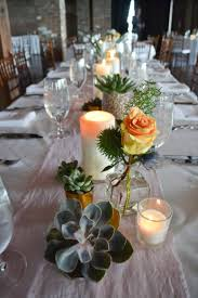 succulents runner wedding table setting table wedding ideas for