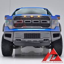 Ford F350 Truck Grills - 41 0158 paramount 09 14 ford f 150 raptor style packaged grille ford