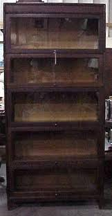 Stacking Bookcase Gunn Mfg Stacking Barrister Bookcase Oak For Sale Antiques Com