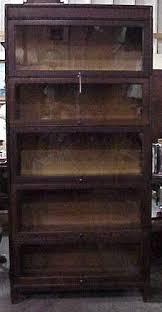 gunn mfg stacking barrister bookcase oak for sale antiques com