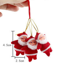 tree ornaments hanging santa claus festival