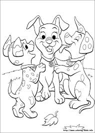 13 coloring pages 22 101 dalmatians oliver aristocats