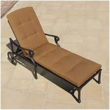 Patio Chaise Lounge Chaise Lounges Cast Aluminum Patio Chaise Lounge By Outdoor