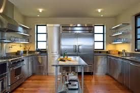 stainless steel kitchen table top stainless steel tabletop with sliding glass door kitchen modern and