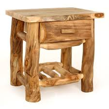 Making Wooden End Table by Best 25 Log Furniture Ideas On Pinterest Log Projects Rustic
