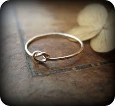 a knot ring knot ring gold filled ring