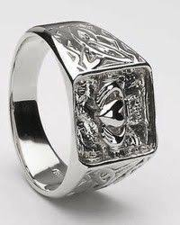 mens claddagh ring mens sterling silver ums 6345 wedding claddagh ring symbol of