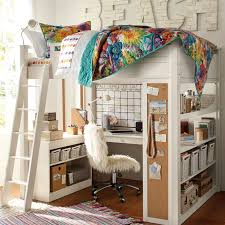 teenage bunk beds with desk outstanding lovable full size loft beds for girls twin loft bed with