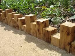 Timber Garden Edging Ideas 66 Creative Garden Edging Ideas To Set Your Garden Apart